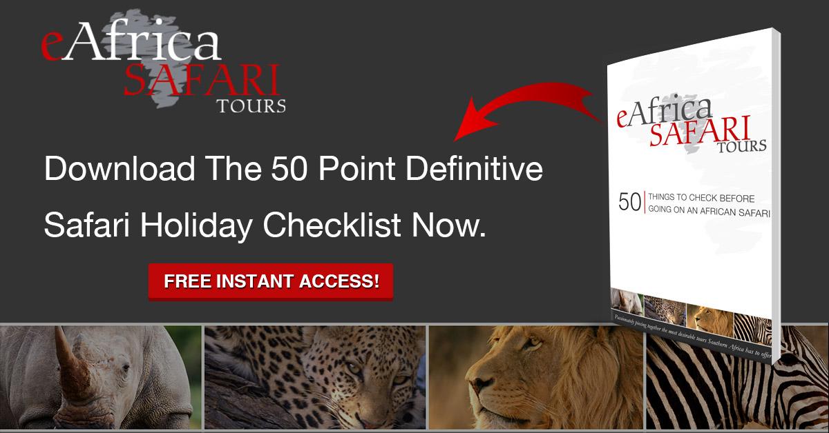 eAfrica Safari checklist