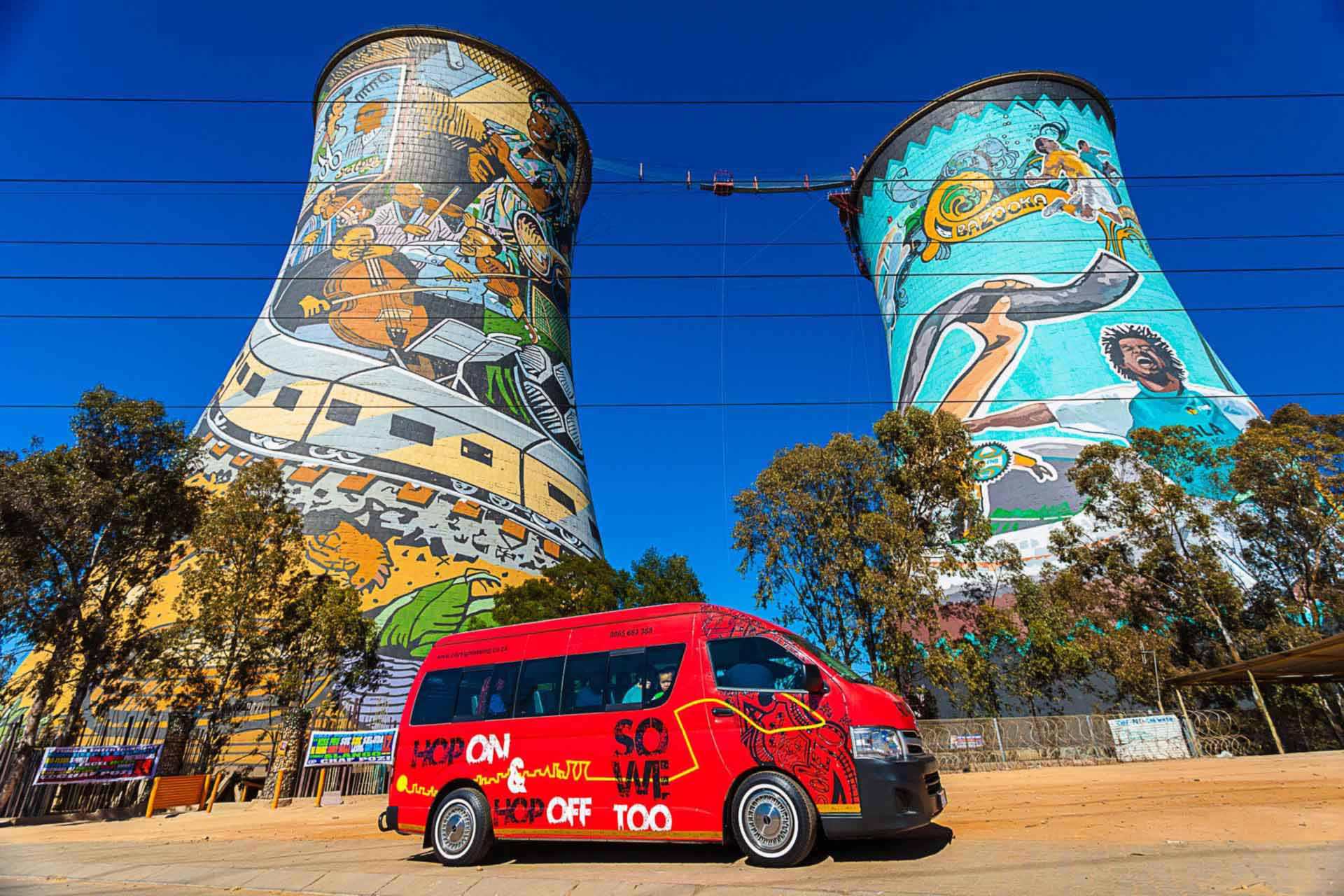 Soweto Towers Day Tour